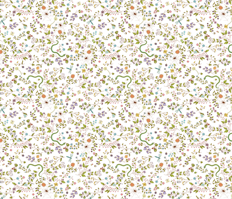 Nature fabric by yvonne_herbst on Spoonflower - custom fabric