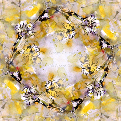 Garden Of Delight by Ginette (Basic & Mirror Repeat)