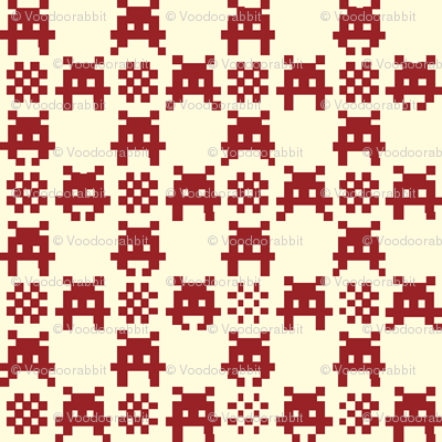 Gingham_Invaded-RED