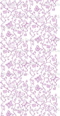 butterfly raspberry swirl