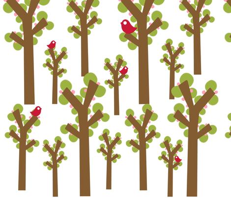 full bloom fabric by emilyb123 on Spoonflower - custom fabric