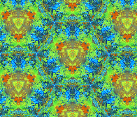 Monacco Pattern by Ginette (Basic & Mirror Repeat) fabric by ginette on Spoonflower - custom fabric