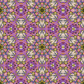 Lavender Impressionist 1 by Ginette (Mirror Repeat)