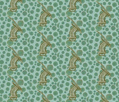 Tribal Beat-051 fabric by kkitwana on Spoonflower - custom fabric
