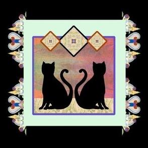 Black Tile 2, Cats