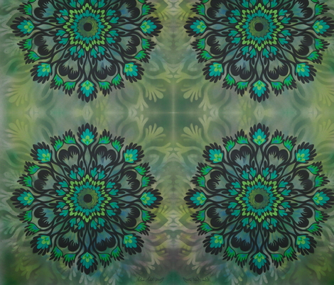 Flourish fabric by alisalahti on Spoonflower - custom fabric