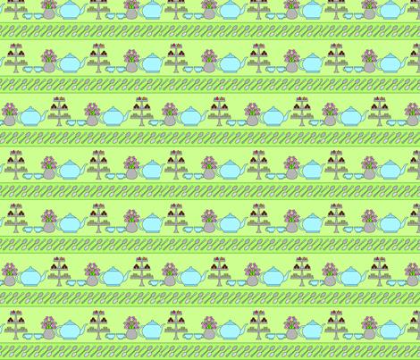 Green Tea fabric by lmg on Spoonflower - custom fabric