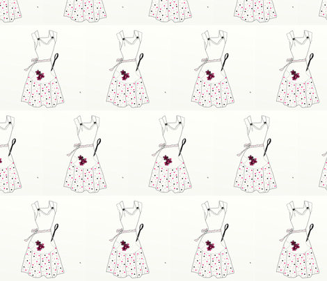 SpoonFlower Apron fabric by designsbychelsee on Spoonflower - custom fabric