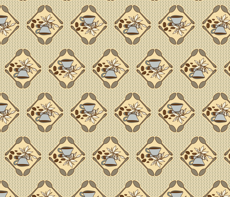Coffee Time 2 fabric by mysteek on Spoonflower - custom fabric