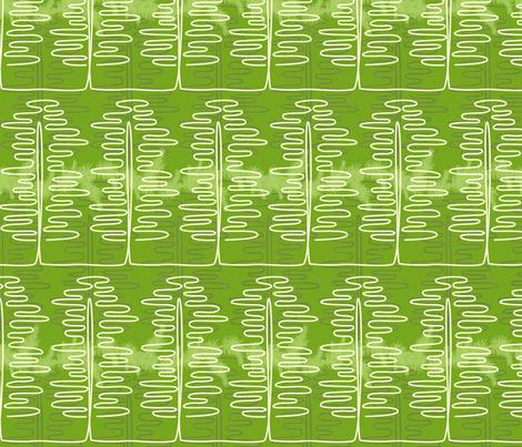 Treesy fabric by tammikins on Spoonflower - custom fabric