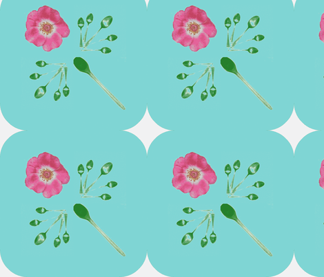 Picnik_collage__aqua_curve_big_leaves_rose-ch fabric by khowardquilts on Spoonflower - custom fabric