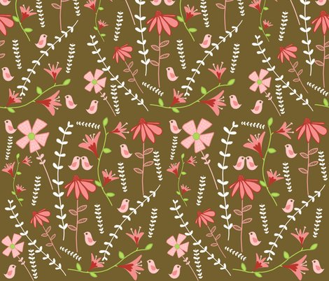 Rrfabric_flower_garden_brown_background_shop_preview