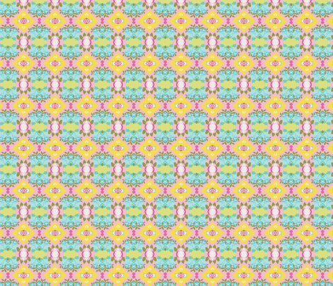 Nonie's garden fabric by weezyrose on Spoonflower - custom fabric