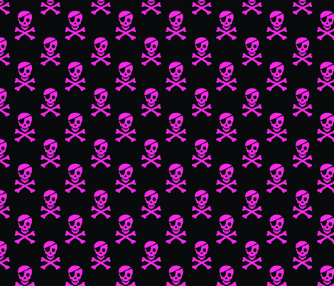 Fat Quarter Sampler - Pirate Princess fabric by pixeldust on Spoonflower - custom fabric