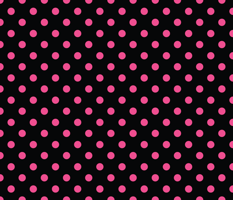 Pirate Princess Polkadots fabric by pixeldust on Spoonflower - custom fabric