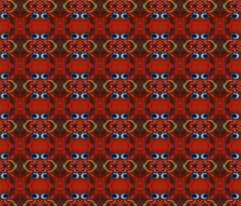 BLUE NOTE by SUE DUDA fabric by suedudadesigns on Spoonflower - custom fabric