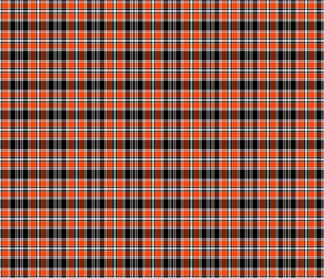 Halloween Plaid fabric by connielou on Spoonflower - custom fabric