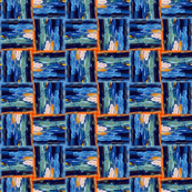 Blue Weave by Ginette (Basic & Mirror Repeat)