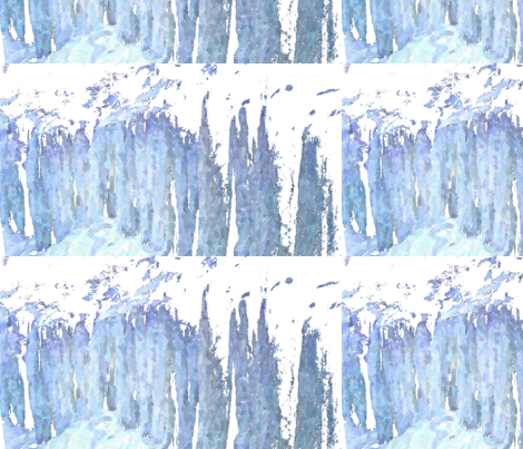 Ice_Wall fabric by simplydolling on Spoonflower - custom fabric