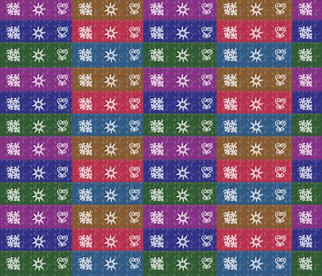 Adinkra Quilt-062 fabric by kkitwana on Spoonflower - custom fabric