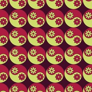 flowery yin yang