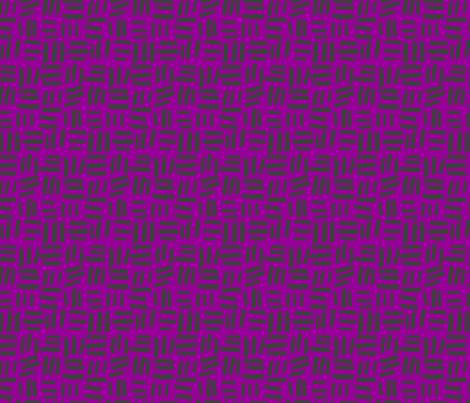 Black Dash fabric by daniellerenee on Spoonflower - custom fabric