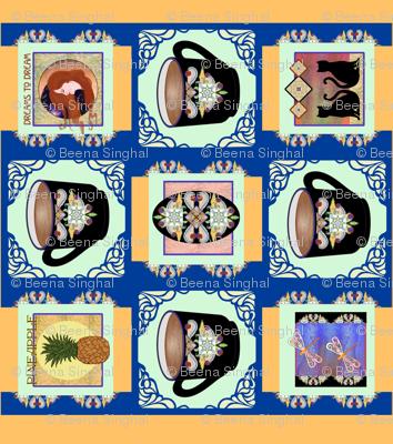 Art Nouveau Panel