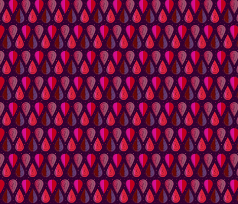 dropping_sixes_and_nines7-ch-ch-ch fabric by narink on Spoonflower - custom fabric