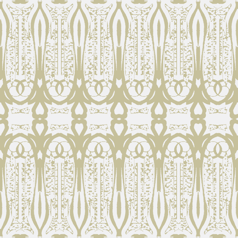 Love is - Lovely Linen © Kristopher K 2009 fabric by kristopherk on Spoonflower - custom fabric