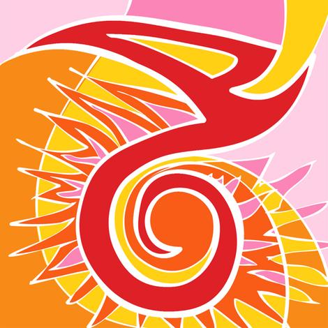 Fire fabric by spellstone on Spoonflower - custom fabric