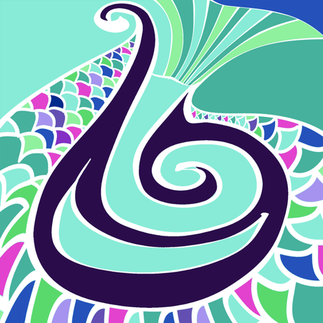 Water fabric by spellstone on Spoonflower - custom fabric