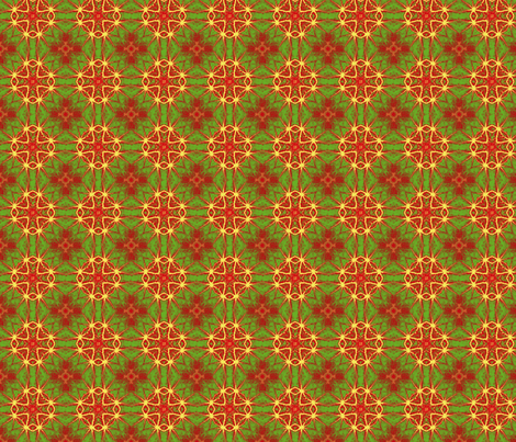 focal_red_border_6b_pa_pinwheel_nas_leaves_45_Picnik_collage_preview_preview fabric by khowardquilts on Spoonflower - custom fabric