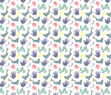 Once I caught a fish alive fabric by jasmo on Spoonflower - custom fabric