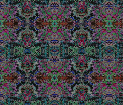 SOLAR CORAL 3 by SUE DUDA fabric by suedudadesigns on Spoonflower - custom fabric