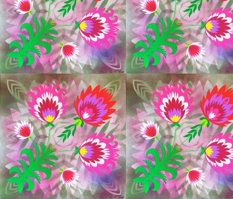 Posy_2 fabric by alisalahti on Spoonflower - custom fabric