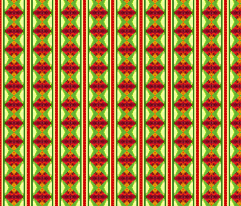 Christmas_stripe_image fabric by khowardquilts on Spoonflower - custom fabric