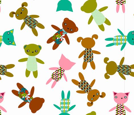 Dollpanel_triorio1 fabric by renule on Spoonflower - custom fabric