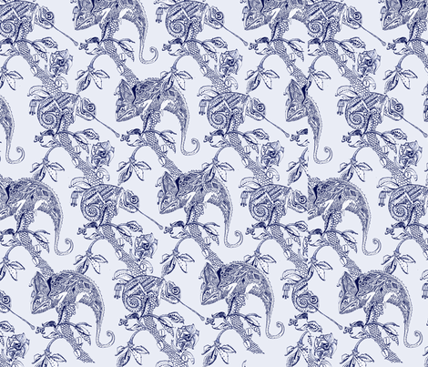 cameleon fabric by libby_walker on Spoonflower - custom fabric