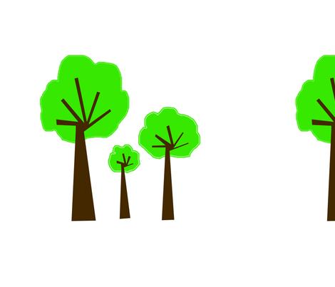 3_trees_copy fabric by petunias on Spoonflower - custom fabric