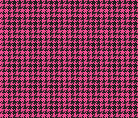 Pirate Houndstooth - Magenta fabric by pixeldust on Spoonflower - custom fabric