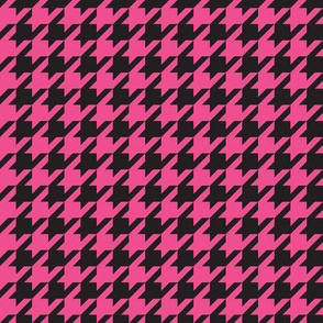 Pirate Houndstooth - Magenta