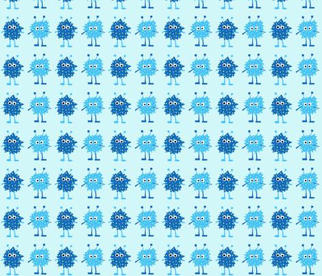 2_monsters fabric by petunias on Spoonflower - custom fabric