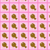 Rbrown_little_bird_on_pink_in_square_copy_shop_thumb