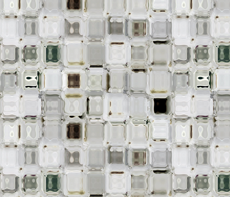 Jewel Mosaic fabric by kristopherk on Spoonflower - custom fabric