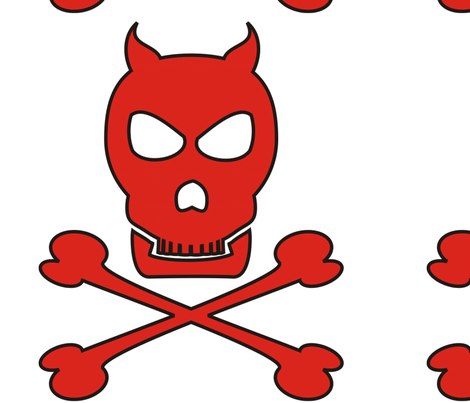Devil_Pirate_tr_centered_13x13_copy fabric by moonduster on Spoonflower - custom fabric
