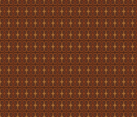 RUST TILED by SUE DUDA fabric by suedudadesigns on Spoonflower - custom fabric