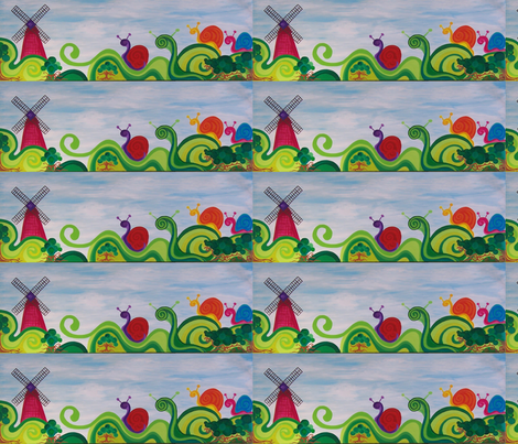 Here's to the Future, a work always in Progrss fabric by heatherpeterman on Spoonflower - custom fabric