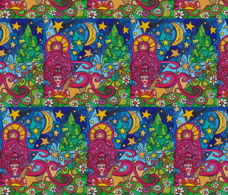 How Will thy Gardens Grow ? fabric by heatherpeterman on Spoonflower - custom fabric