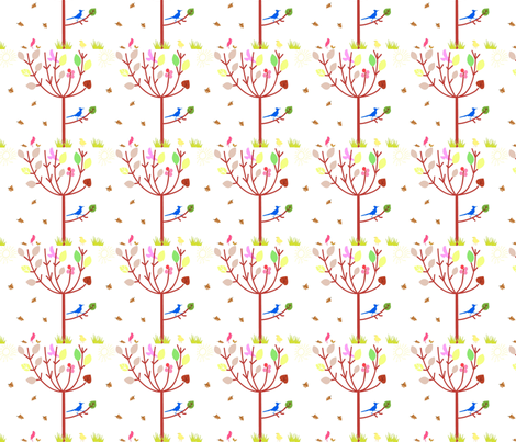 Autumn Time fabric by anacskie on Spoonflower - custom fabric