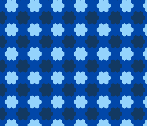 hex_check_Picnik_collage fabric by khowardquilts on Spoonflower - custom fabric